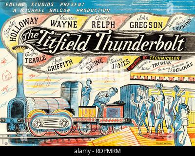 L'TITFIELD THUNDERBOLT 1953 Film Studios Ealing Photo Stock
