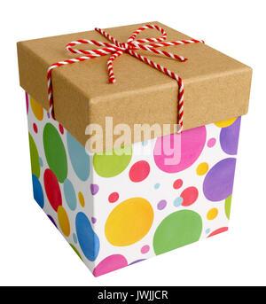 Cadeaux carrés Photo Stock
