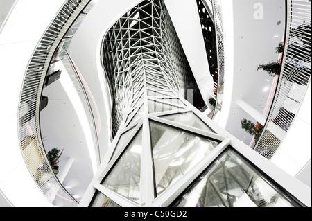 Galerie Zeil, l'architecture moderne, créative, Frankfurt am Main, Hesse, Germany, Europe Photo Stock