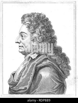 CHRISTOPHER WREN (1632-1723) architecte Anglais, astronome et mathématicien Photo Stock