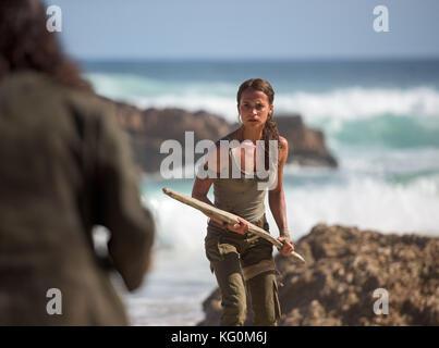 DATE DE SORTIE: Mars 16, 2018 Title: Tomb Raider STUDIO: MGM Directeur: Roar Uthaug PLOT: Photo Stock