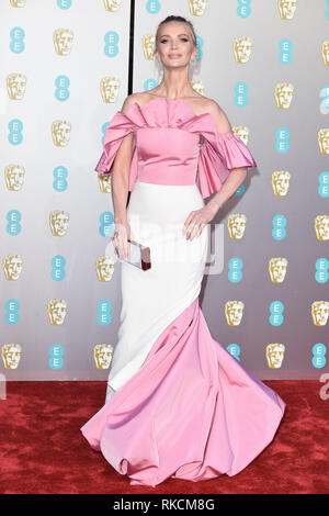 Londres, Royaume-Uni. 10 fév, 2019. Londres, Royaume-Uni. 10 février 2019 : Tatiana Korsakova arrivant pour le BAFTA Film Awards 2019 au Royal Albert Hall, Londres. Photo : Steve Sav/Featureflash Crédit : Paul Smith/Alamy Live News Photo Stock