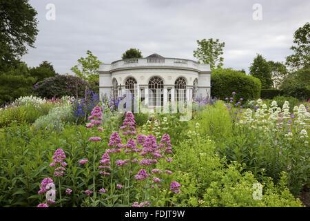 La maison du jardin, construit en 1780 par Robert Adam, dans le motif de plaisir à Osterley, Middlesex. Le Photo Stock