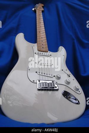 Guitare électrique Fender Stratocaster bhz Photo Stock