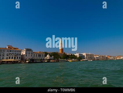Vieux bâtiments de Venise sur le canal, Vénétie, Venise, Italie Photo Stock