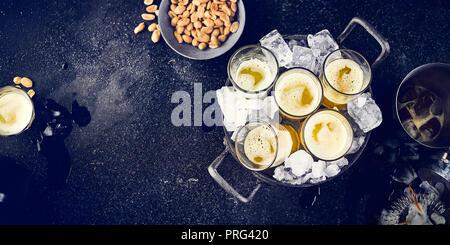 Vodka Split Photo Stock