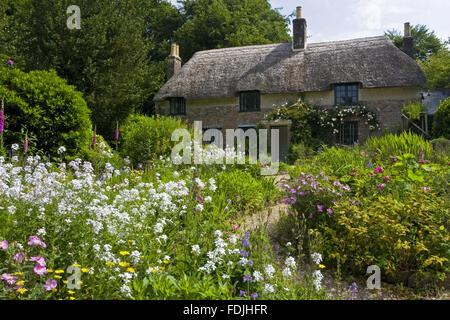 Hardy's Cottage, le lieu de naissance en 1840 de l'écrivain et poète Thomas Hardy , plus à Photo Stock
