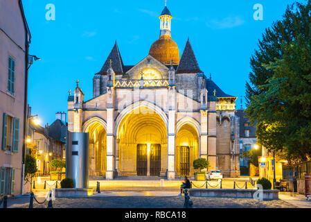 France, Bourgogne-Franche-comté, Bourgogne, Côte-d'Or, Beaune. Basilique Notre Dame de Beaune. Photo Stock