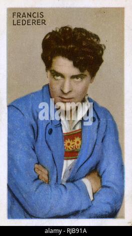 Francis Lederer, acteur de cinéma tchèque. Photo Stock