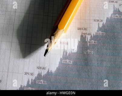 Stock crayon graphique Photo Stock