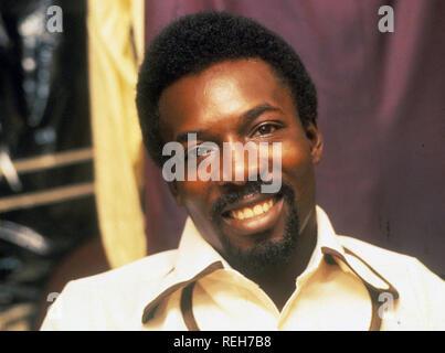 WILSON PICKETT (1941-2006), chanteur et compositeur américain de 1970 Photo Stock