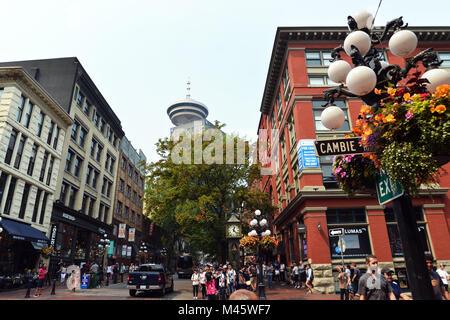 Gastown Vancouver, British Columbia, Canada Photo Stock