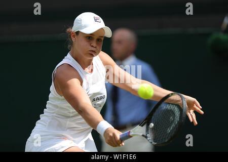 Ashleigh Barty Wimbledon 2019 Photo Stock