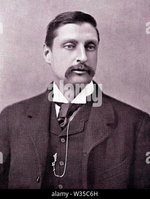 HENRY RIDER HAGGARD (1856-1925), romancier anglais adventure Photo Stock