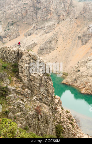 Géographie / voyages, Croatie, Dalmatie, Canyon Zrmanja, Additional-Rights Clearance-Info-Not-Available- Photo Stock