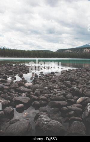 Belles images de voyage de Jasper, Canada Photo Stock