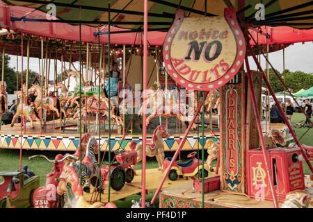 Harris's Fair ground ride Photo Stock