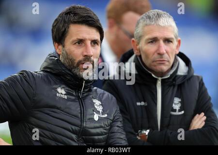 DANNY CROWLEY, FC Everton V LINCOLN CITY, unis en FA Cup, GOODISON PARK, Everton, en Angleterre, 05 Janvier 2019 Photo Stock