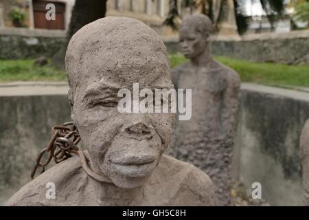 Géographie / billet, en Tanzanie, pour les esclaves moument 33140 Miami par Clara dans la vieille ville de Photo Stock