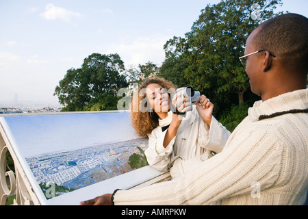 Couple africain Photo Stock