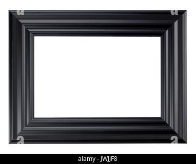 Cadre Photo en bois noir Photo Stock