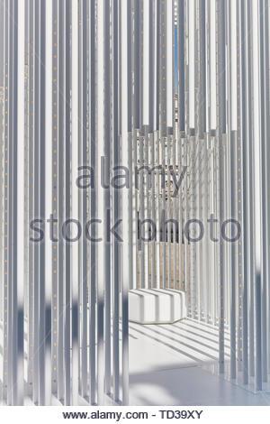 Installation en Tabanlioglu Architectes pour la Turquie. Design Biennale 2018 de Londres, Londres, Royaume-Uni. Architecte: Divers , 2019. Photo Stock