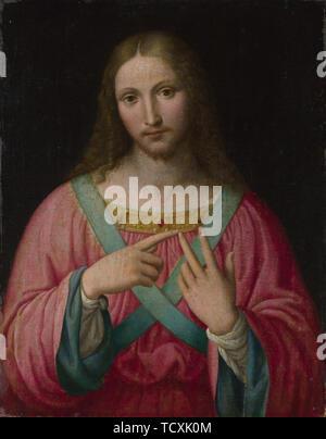 Le Christ, après 1530. On trouve dans la Collection de la National Gallery, Londres. Photo Stock