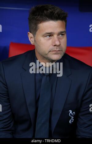 MAURICIO POCHETTINO, Tottenham Hotspur FC, 2019 Photo Stock