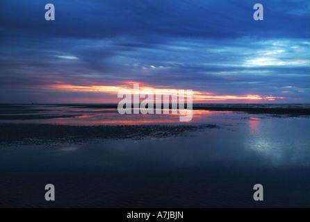 Ciel du soir Photo Stock