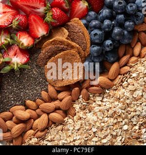 Ingrédient,céréales Photo Stock