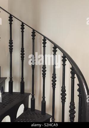 Magnifique escalier ancien Photo Stock