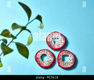 Fruit du dragon,pitaya pitaya, Photo Stock