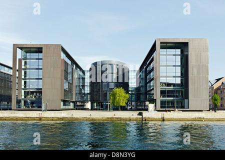 L'architecture moderne, Christiania, Copenhague, Danemark, Europe Photo Stock