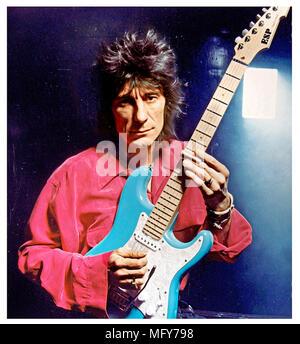 Rolling Stones Ron Wood Photo Stock