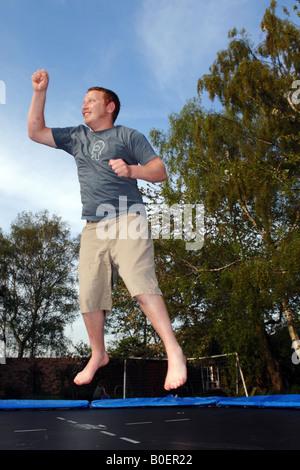 Trampoline Photo Stock