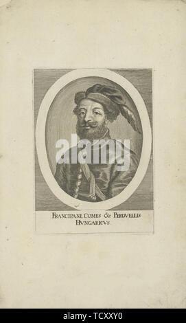 Fran Krsto Frankopan (1643-1671) , 1677. Collection privée. Photo Stock