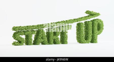 Jeune société - 3D concept illustration Photo Stock
