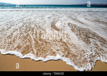 Plage de Horgabost, West Harris, Hébrides, Ecosse UK Photo Stock