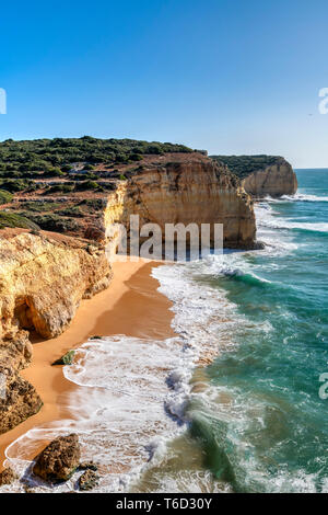Praia do Torrado, Portimao, Algarve, Portugal Photo Stock