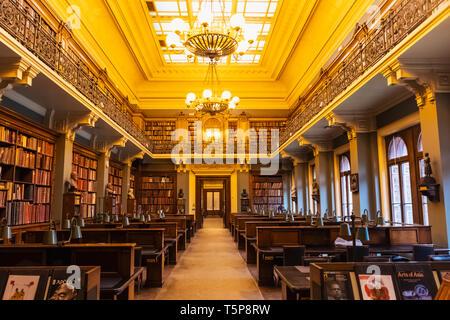 L'Angleterre, Londres, Knightsbridge, Victoria and Albert Museum, la National Art Library Photo Stock