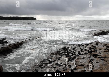 L'océan Atlantique Nord Photo Stock