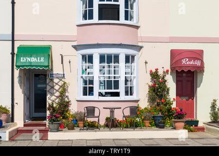 À Weymouth, Dorset UK en mai Photo Stock