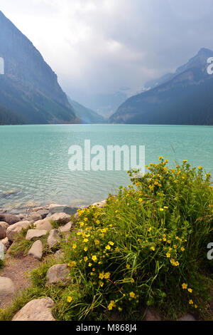 Lake Louise, Canadian Rockies Photo Stock