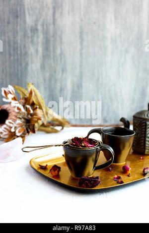 Rose thé Photo Stock