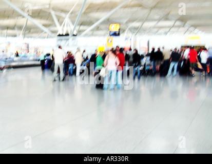 Aéroport le plus pratique Photo Stock