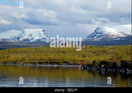 Paysage de montagne Photo Stock