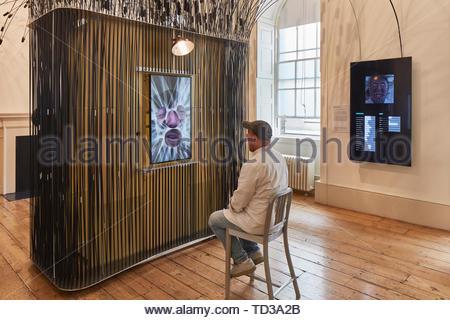 Par installation design Smithsonian Museum (différents concepteurs) pour les USA. Design Biennale 2018 de Londres, Londres, Royaume-Uni. Architecte: Divers , 2019. Photo Stock