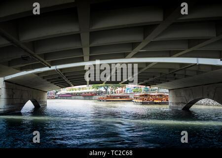 Marina Bay à Singapour Photo Stock