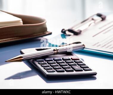 Calculator Photo Stock