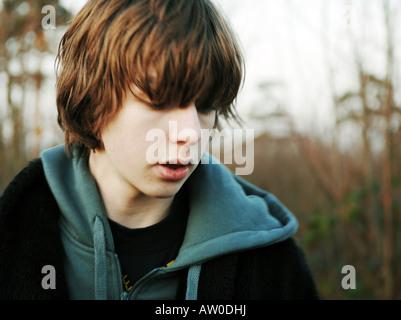 Teen sexe masculin Photo Stock